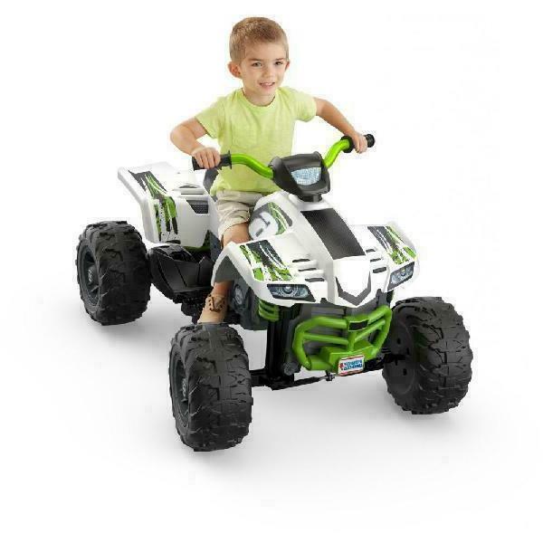 Kids Power Wheels Battery ATV Car Toy Toddler