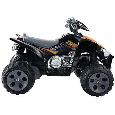 Kids Ride Quad 4 Toy Car Battery Power Black