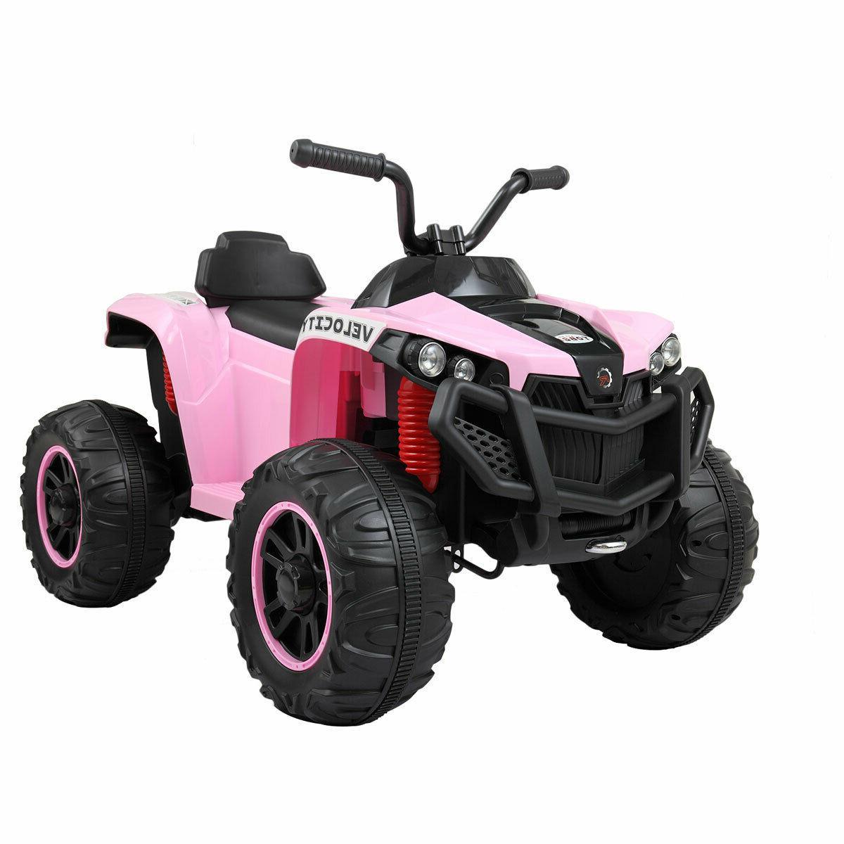 Kids Ride Wheels 2 Speed LED Pink