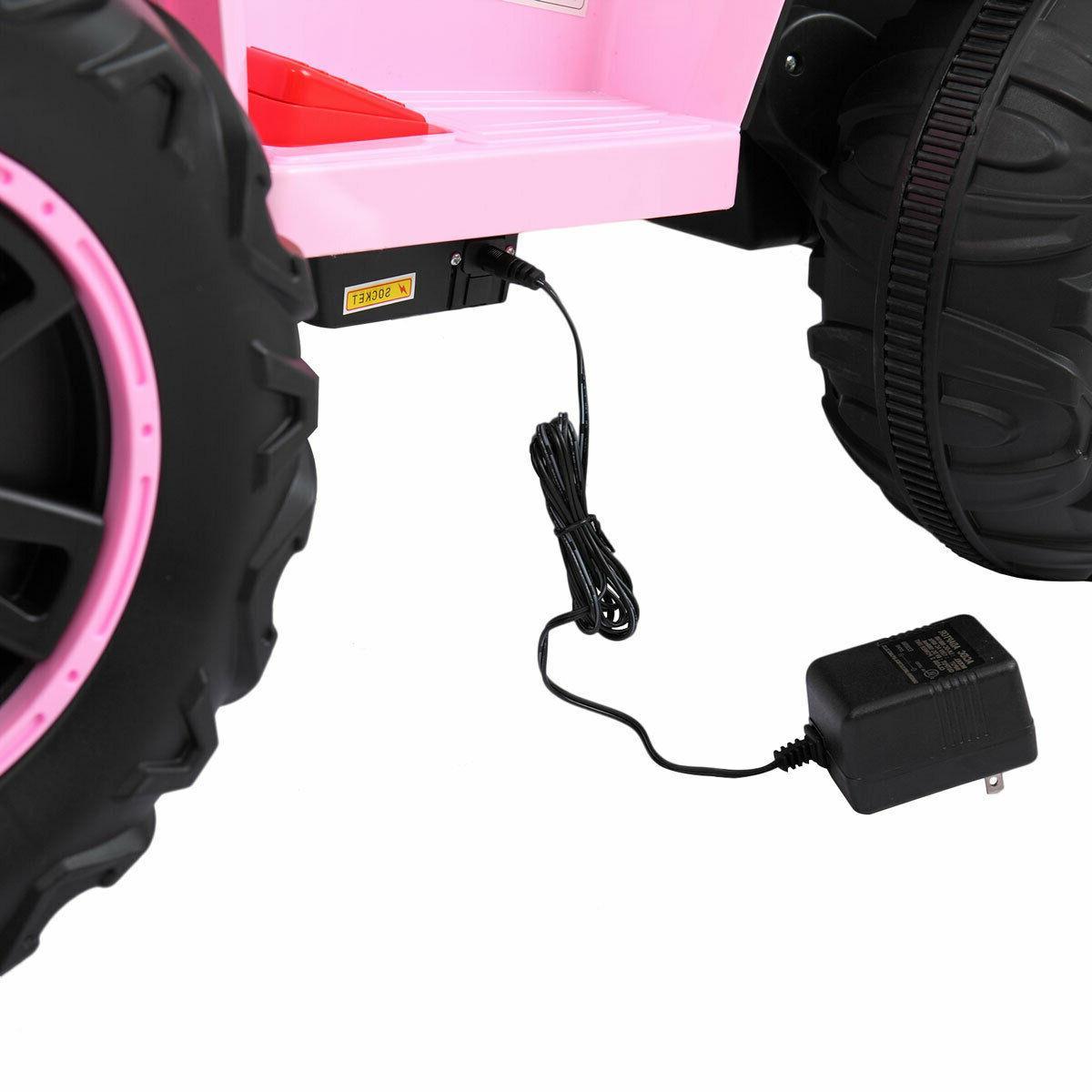 Kids Ride Car 6V Wheels 2 Speed MP3 LED Light Toy