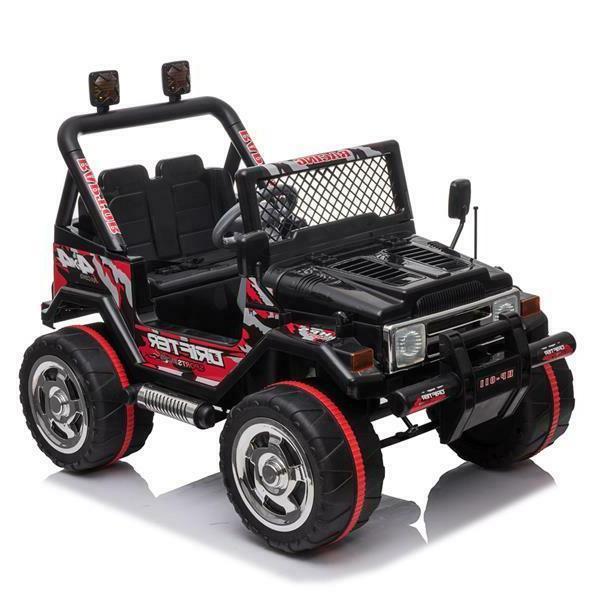 Kids Jeep Remote LED Light Toy