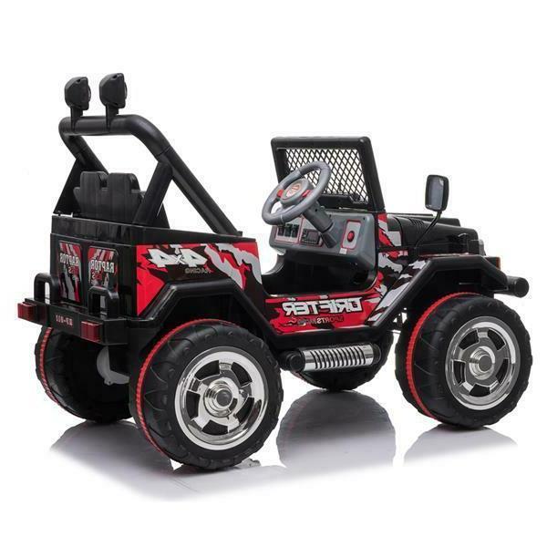 Kids Ride Car Jeep 12V Wheels Remote Light Toy