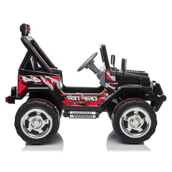 Kids Jeep 12V Electric Remote Control Light Toy