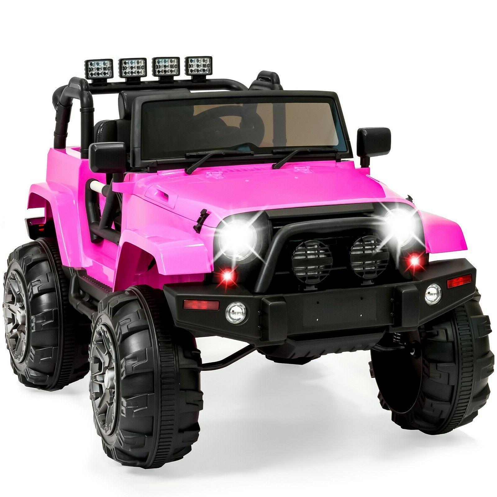 kids ride on jeep wrangler spring suspension