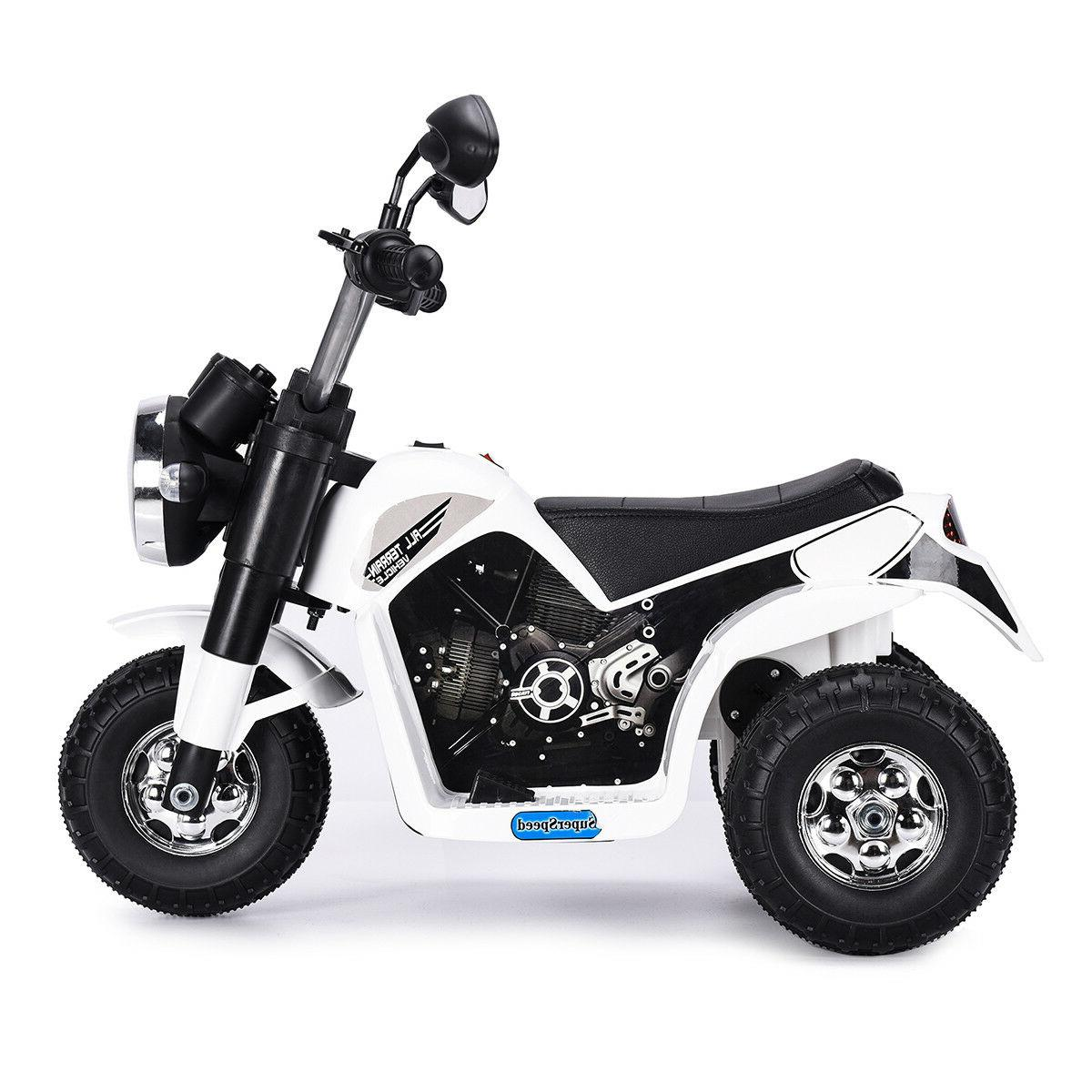 Electric Motorcycle Ride On Battery Powered 3 Toy Gift