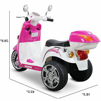 Kids Scooter Bike 3-wheel 6V Battery Electric