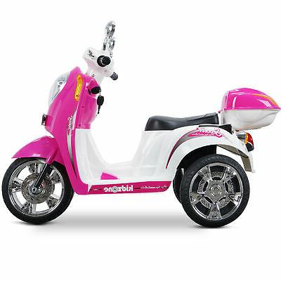 Kids Ride-on Scooter Bike Motorbike Battery Powered Electric