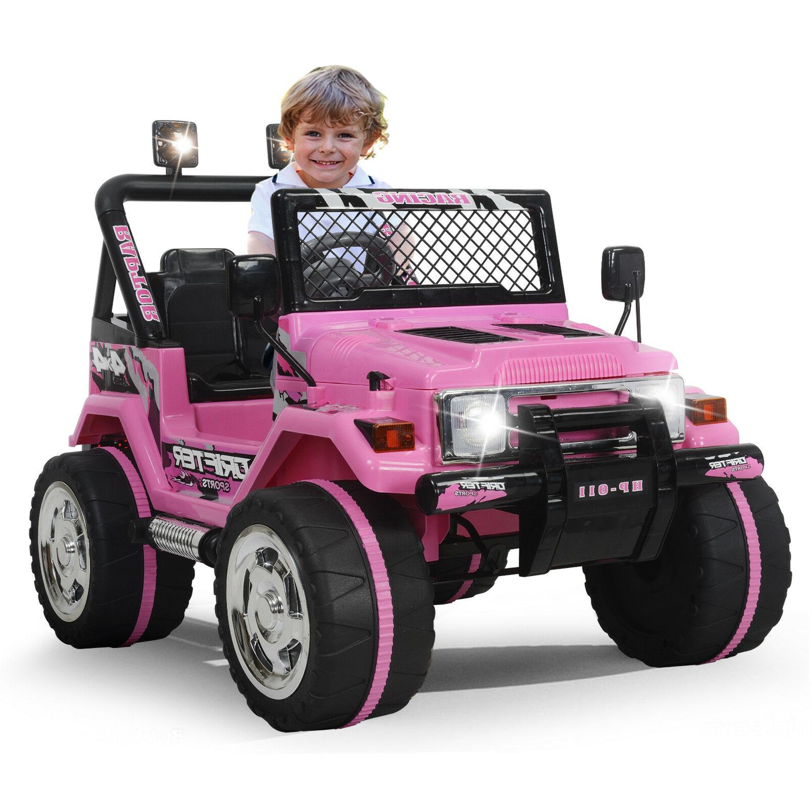 Electric Kids Cars >> Kids Ride On Car Jeep 12v Electric Wheels