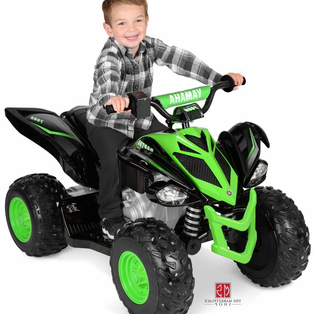 Kids ATV Powered Ride Racer Safe
