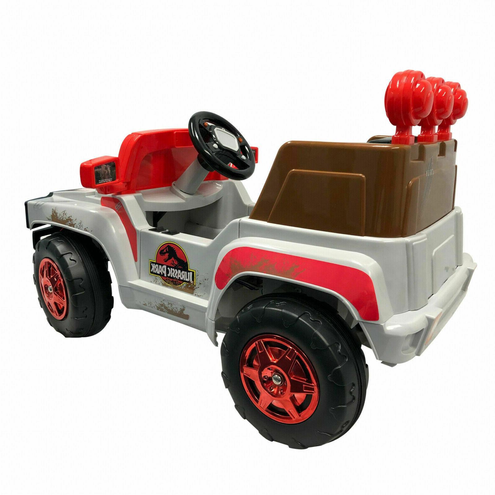 Licensed Jurassic World 6V Ride On Battery Working 4