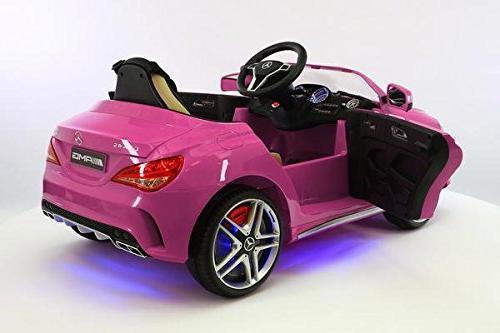 Moderno Kids CLA45 R/C Parental Remote Battery LED Lights 5 Seat Music Tray + Floor Mats