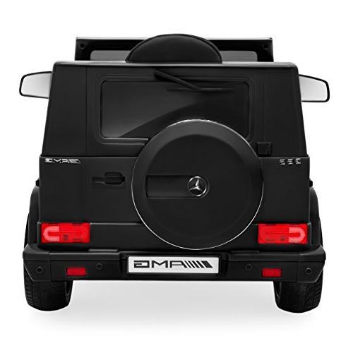 Best Kids Powered Licensed Mercedes-Benz Ride-On Car w/ Control, Speakers, Lights, 2 - Matte
