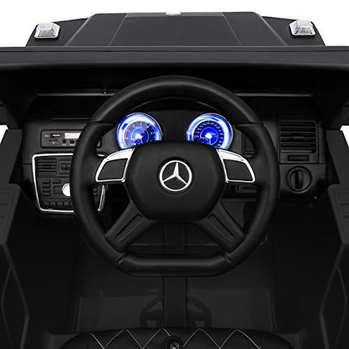 Best Products 12V Kids Battery Mercedes-Benz G65 SUV Ride-On Car w/ Parent Control, Speakers, Lights, - Matte