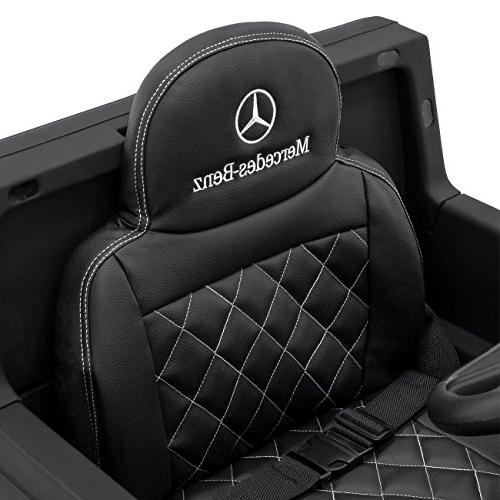 Best Choice 12V Kids Battery Mercedes-Benz Ride-On w/ Parent Control, Built-in Speakers, LED Lights, 2 - Black