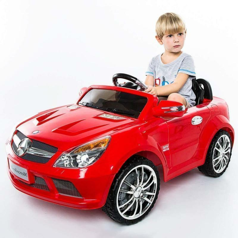 Mercedes-Benz Kids Car MP3 Speed 12V LED