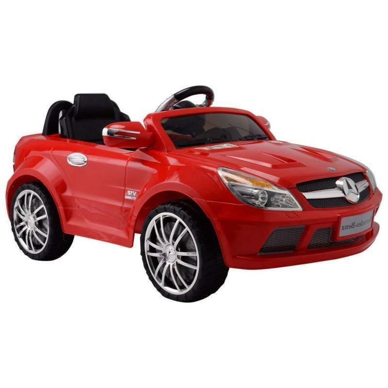 Mercedes-Benz Ride-On MP3 Control Speed Power Wheels LED
