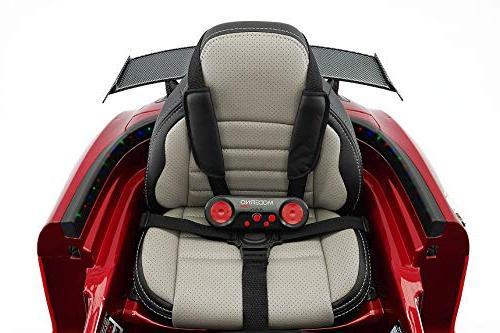 Mercedes SLS Children R/C Parental Battery LED Lights + 5 Seat + LCD Music Player + Mat