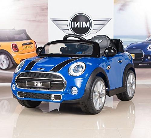 mini cooper electric ride car