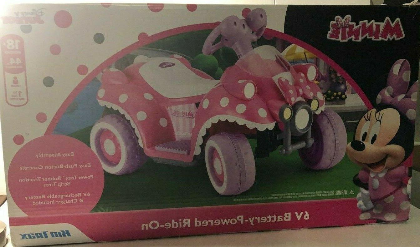 minnie mouse toddler quad electric