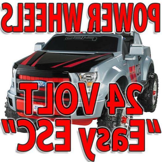 modified power wheels 24 volt easy esc
