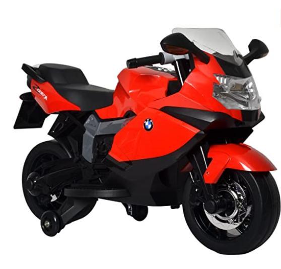 motorcycle toy red bmw toddler