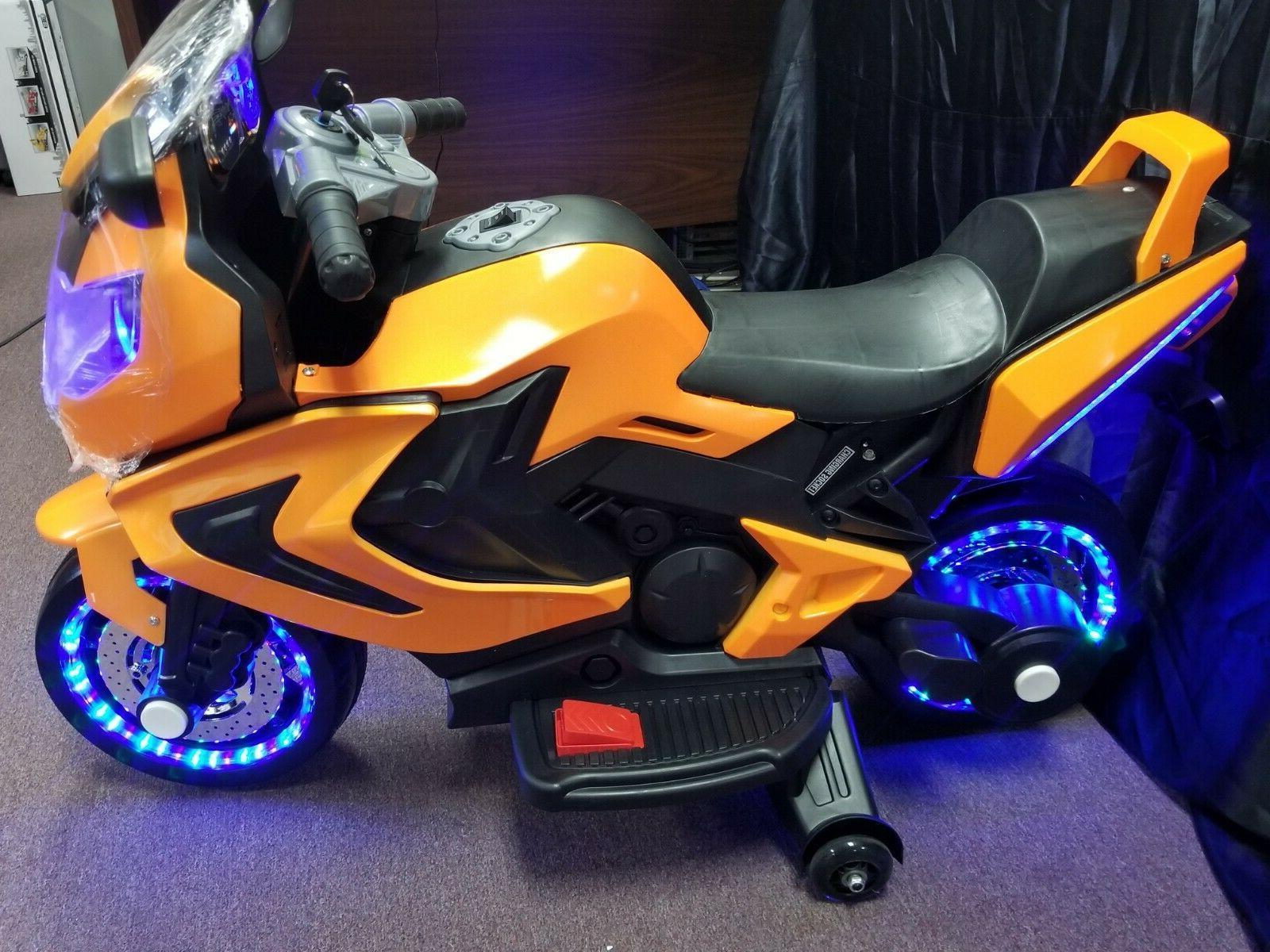 New KIDS RIDE ON SPORTS BIKE power wheel
