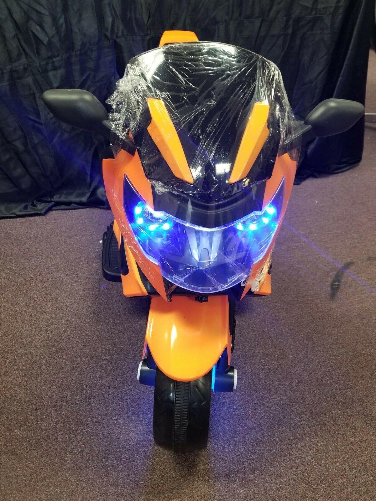 New LED KIDS RIDE ON SPORTS power wheel