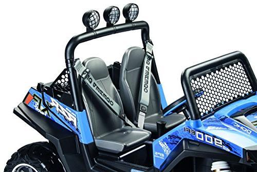 Peg Polaris 900 Ride On, 12V, Blue