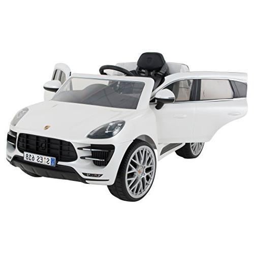 Rollplay 6 Macan Ride On Battery-Powered Kid's Car