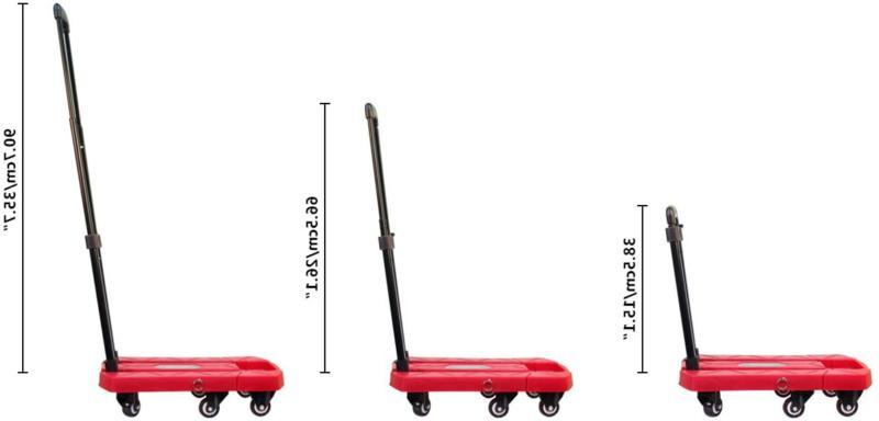 Aodailihb Portable Folding Luggage Cart