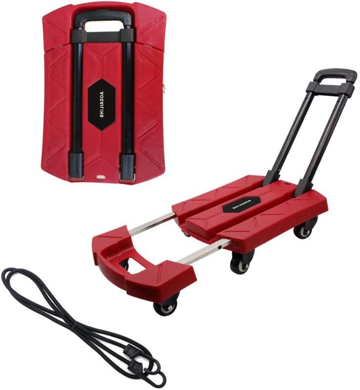 Aodailihb Folding Luggage Cart 360° Load 440 Pounds