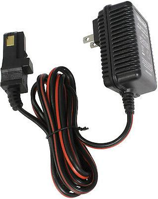 Power Wheels 12V Battery Charger For Gray / Orange-Top Fishe
