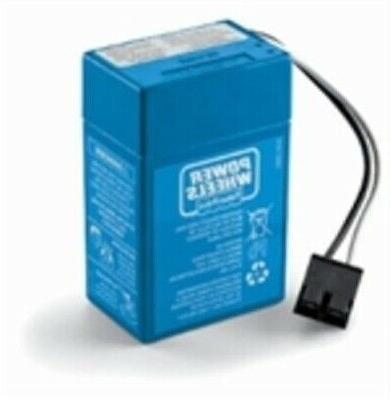 power wheels 6v volt blue battery 00801