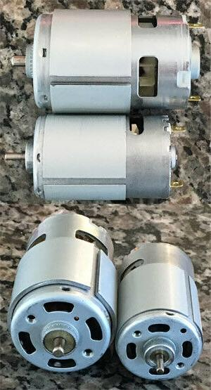 Power Wheels Motor Kit - Faster Traxxas 18v 24v