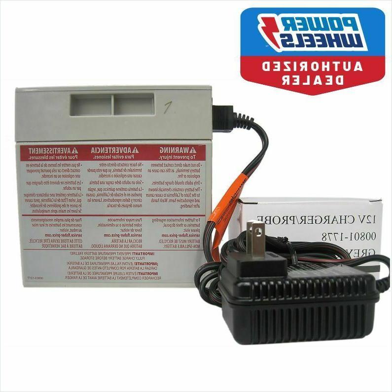 power wheels 12v gray battery 00801 0638