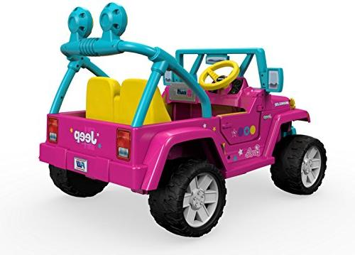 Power Wheels Barbie Wrangler