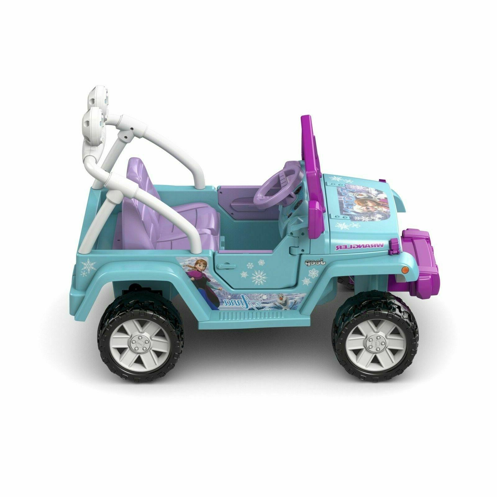 Power Ride-On Play Wrangler 12-Volt
