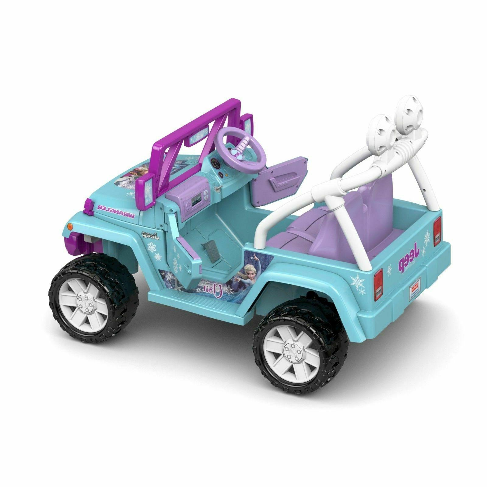 Power Ride-On Play Disney Wrangler 12-Volt