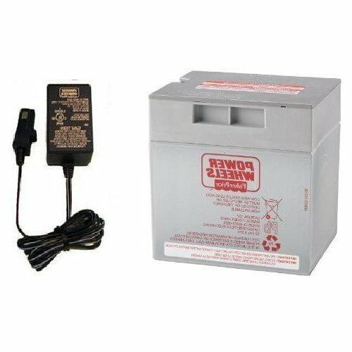 Power Wheels 12 Volt Battery Replacement for 00801-0638