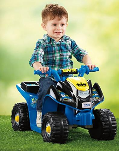 Power Wheels Super Friends Quad 6 Ride On