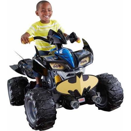 Fisher-Price Power Wheels Super Kawasaki Batman ATV
