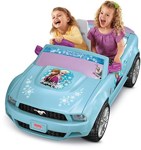 power wheels disney frozen ford