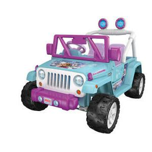 power wheels disney frozen jeep wrangler 12