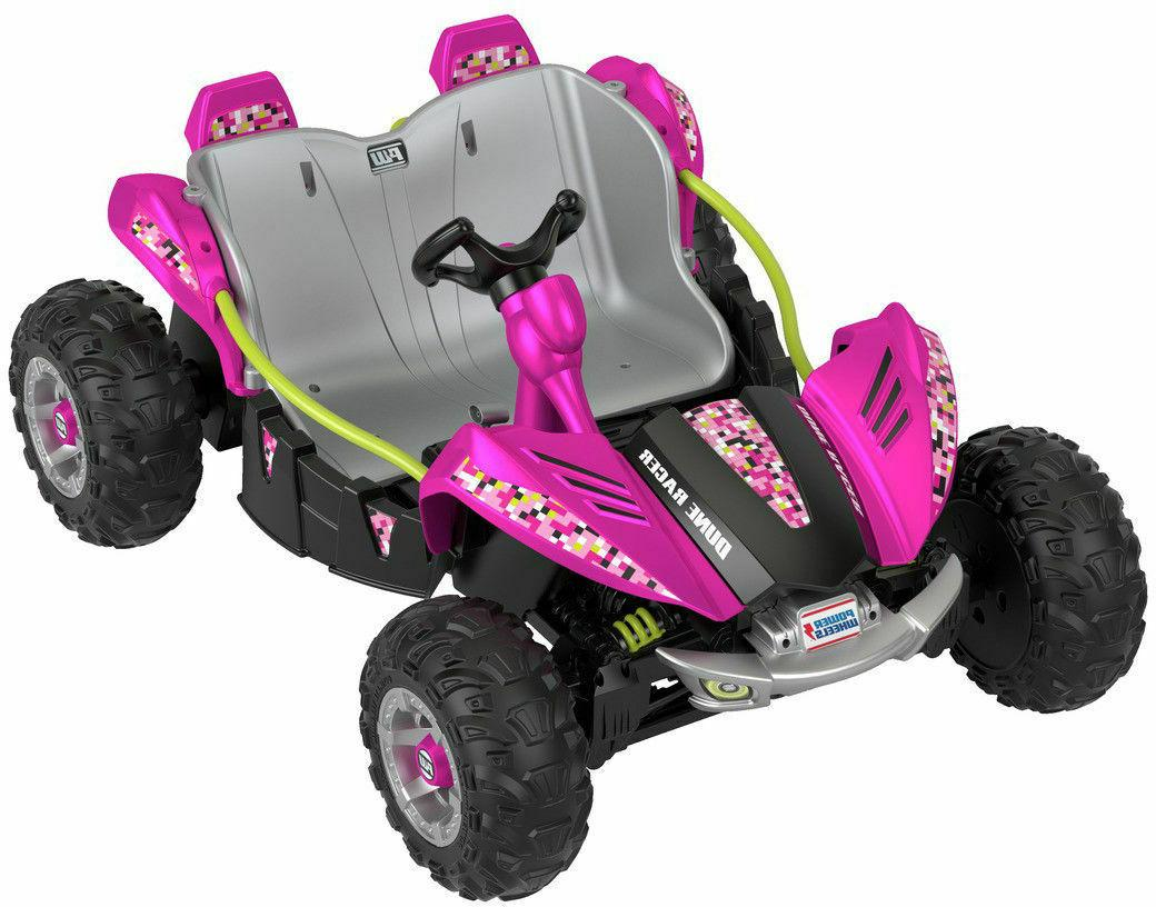 Fisher-Price® Power Racer Pink FREE SHIP