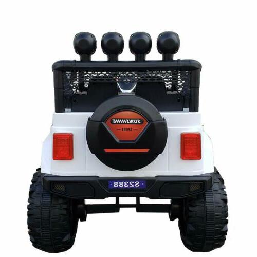Kids Jeep Ride On 12V Control MP3 LED