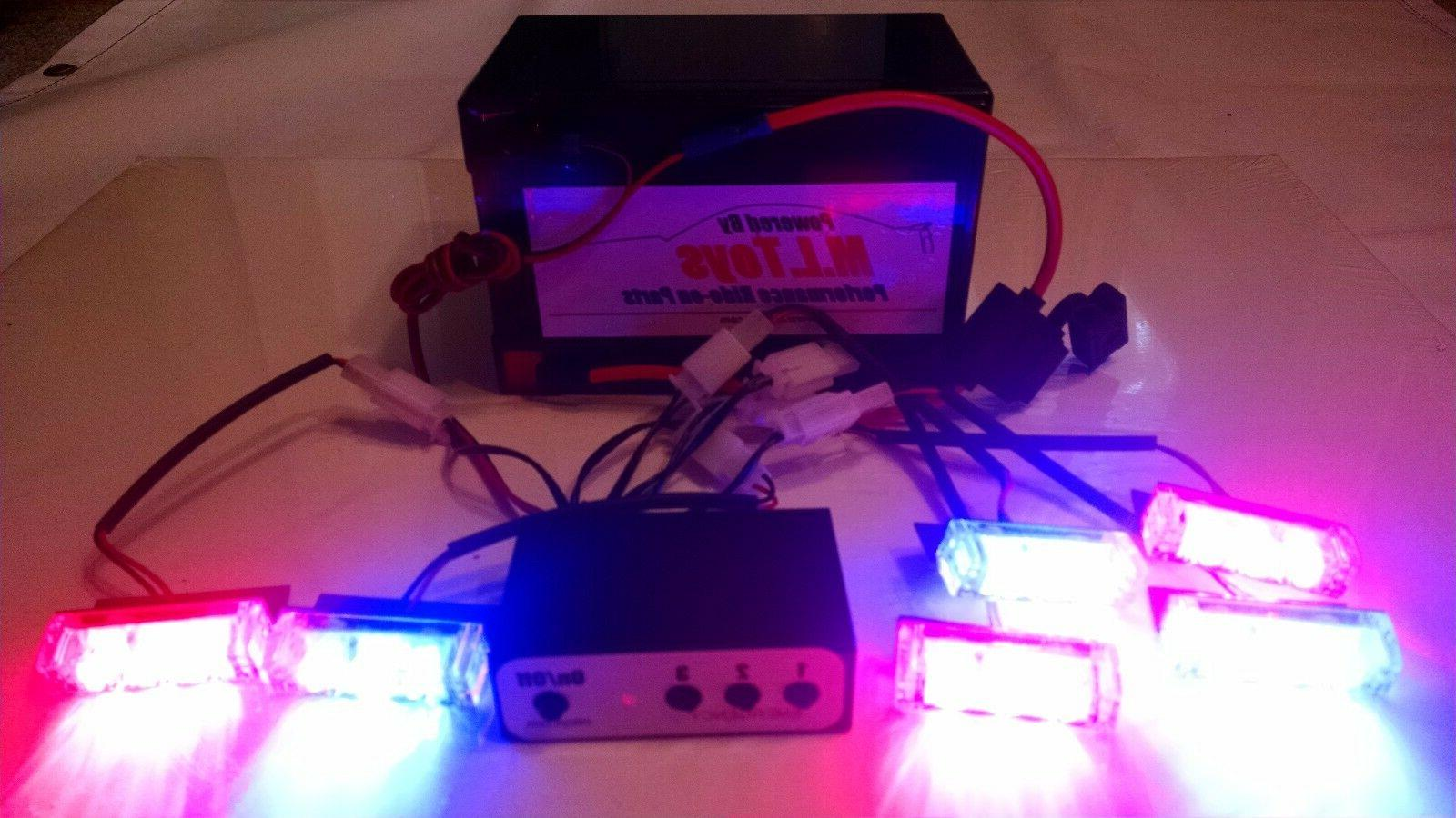 power wheels emergency light led kit