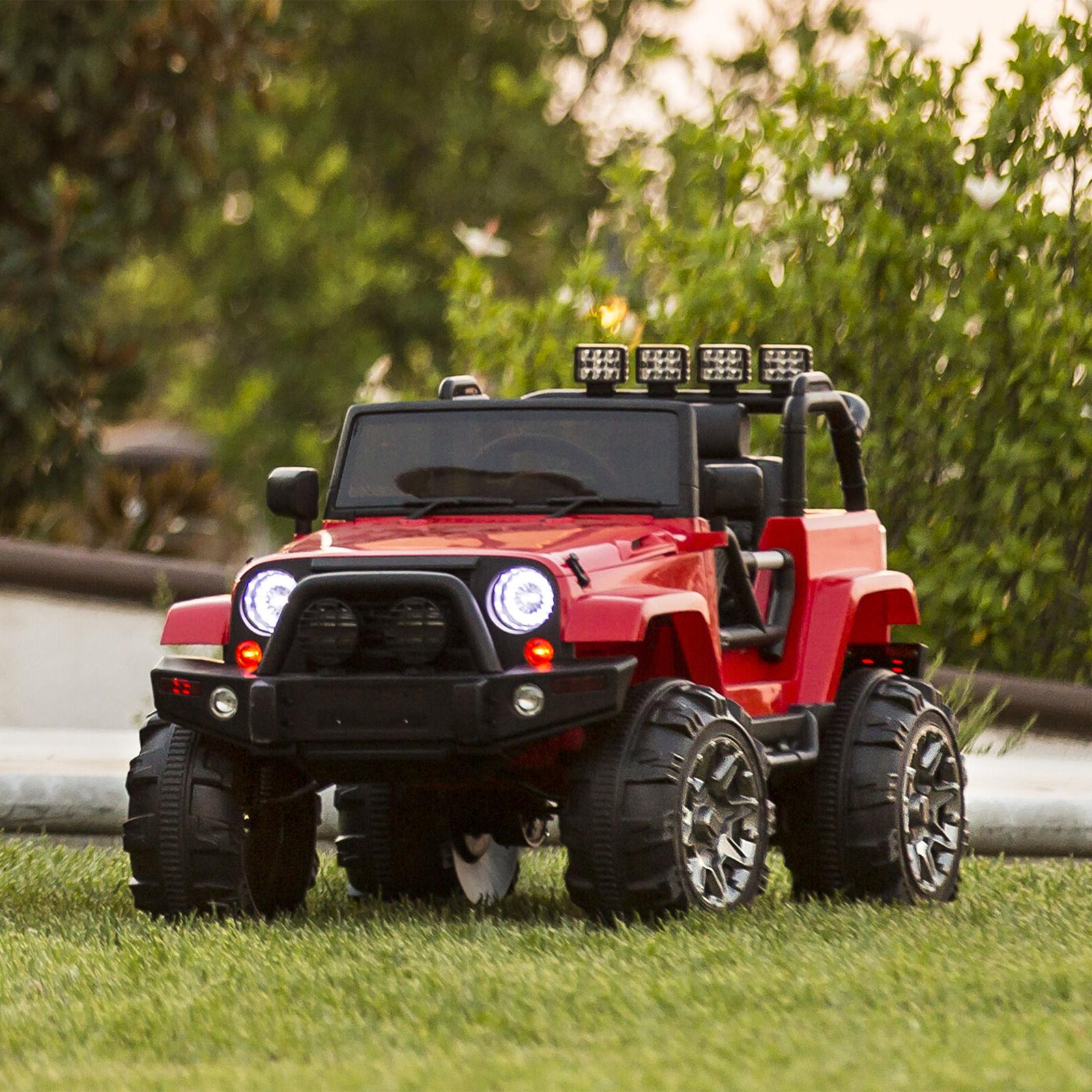 power wheels for boy jeep electric car