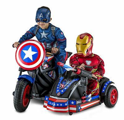Power Wheels For Boys 12V Motorcycle Ride-On Marvel Avengers