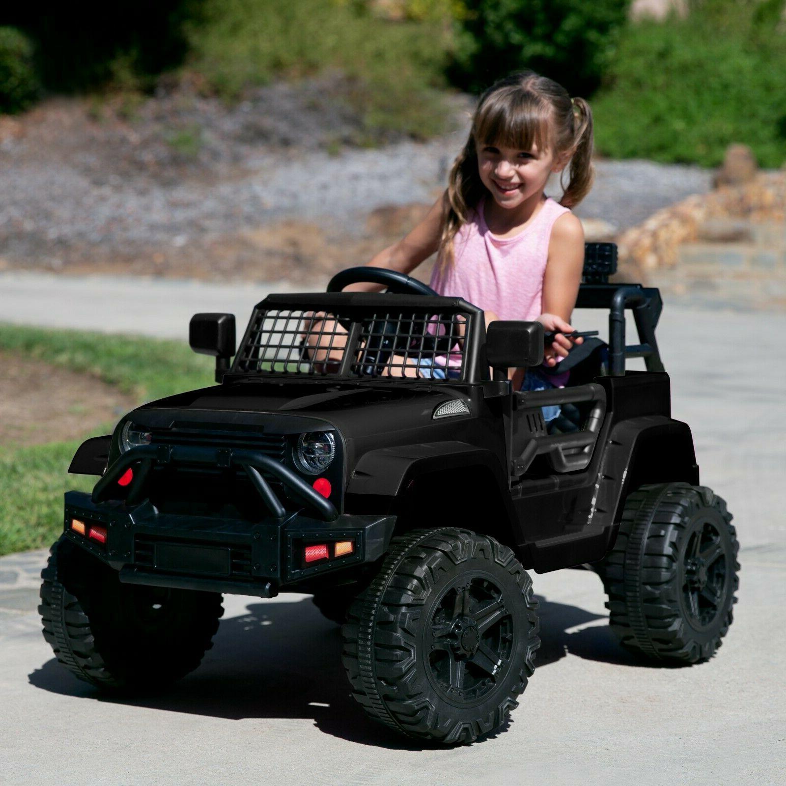 Power Wheels Boys Girls Kids On Car Lights