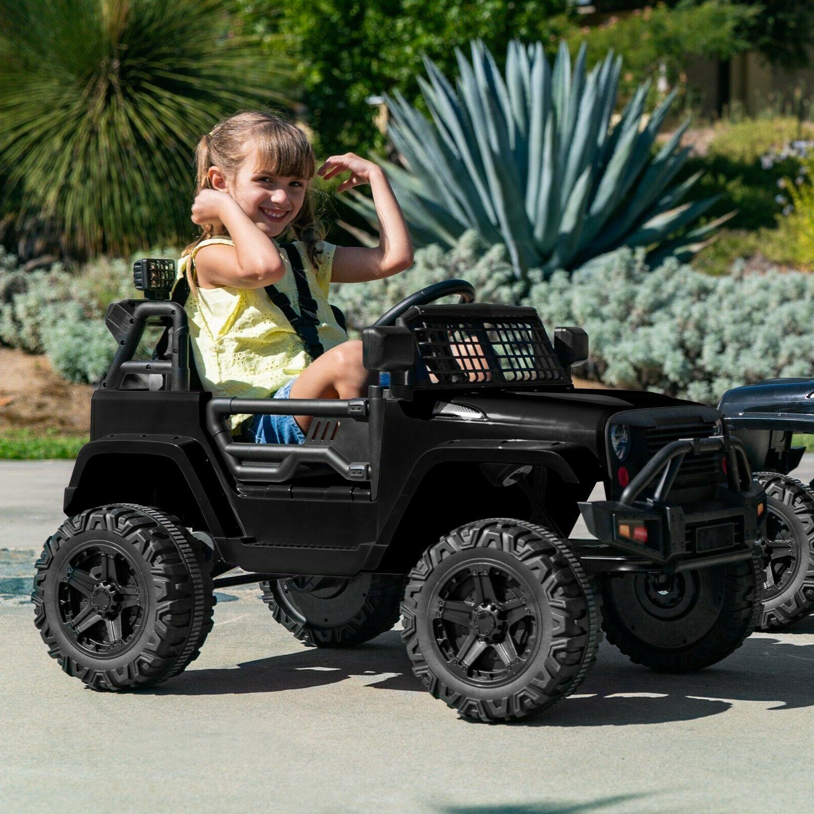 Power Wheels For Boys Girls On Car W